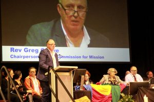 Rev Greg Crowe
